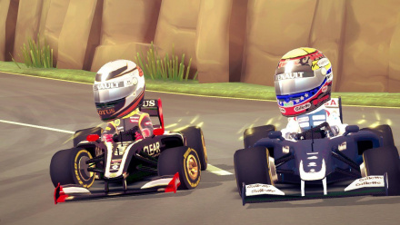 F1 Race Stars Screenshot