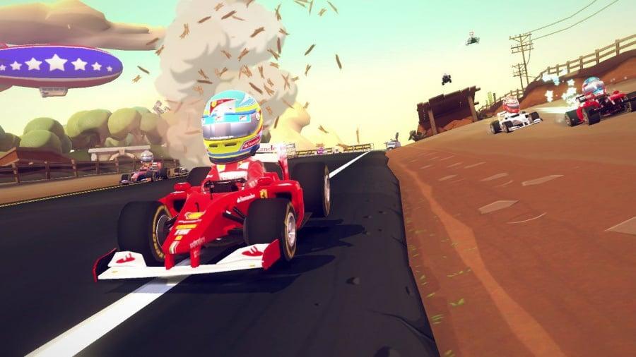 F1 Race Stars Review - Screenshot 1 of 5