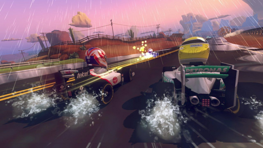 F1 Race Stars Review - Screenshot 5 of 5