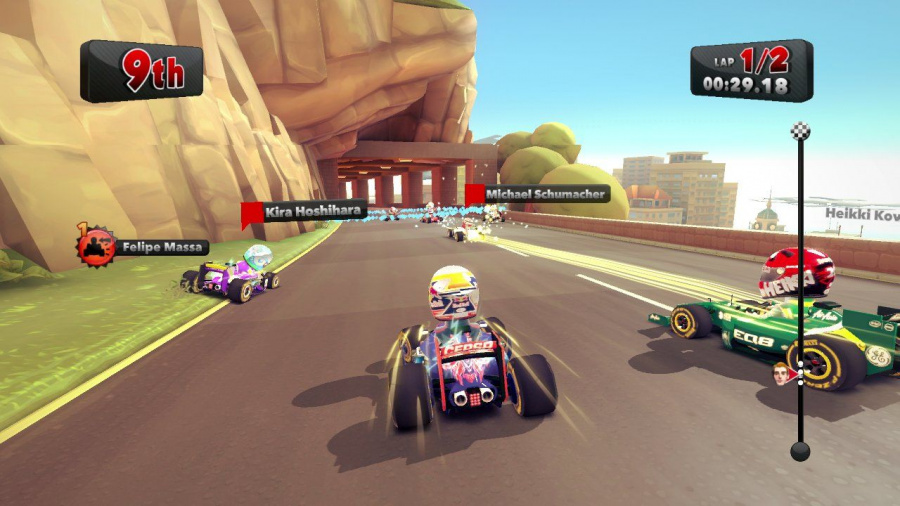 F1 Race Stars Review - Screenshot 1 of 4