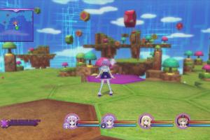 Hyperdimension Neptunia Victory Screenshot