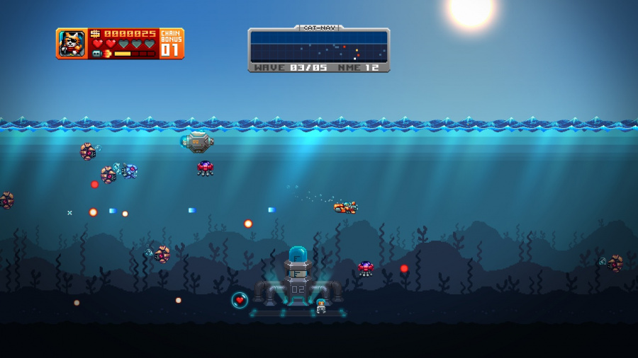 Aqua Kitty: Milk Mine Defender Review - Screenshot 1 of 4