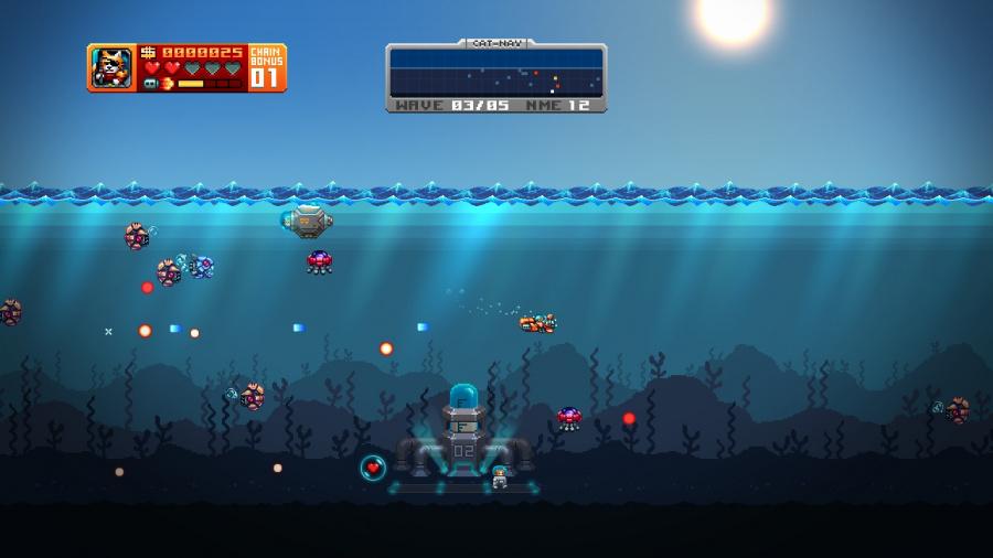 Aqua Kitty: Milk Mine Defender Review - Screenshot 3 of 4