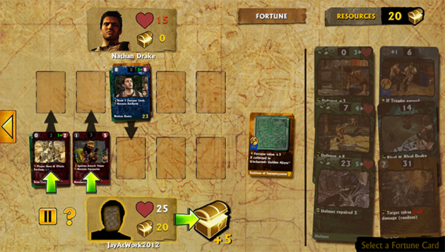 Uncharted: Fight for Fortune Review - Screenshot 2 of 3