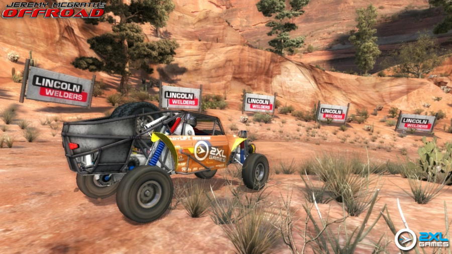 Jeremy McGrath's Offroad Review - Screenshot 1 of 3
