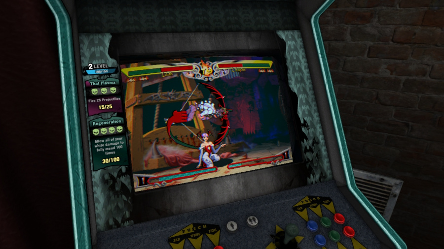 Darkstalkers Resurrection Review - Screenshot 2 of 3