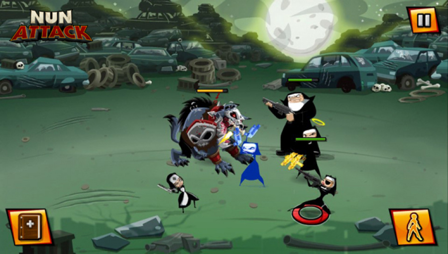 Nun Attack Review - Screenshot 5 of 5