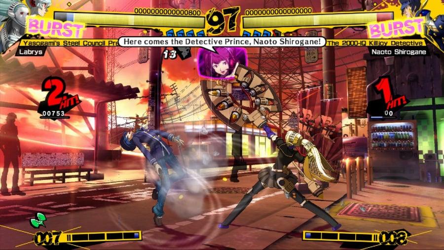 Persona 4 Arena Review - Screenshot 5 of 5