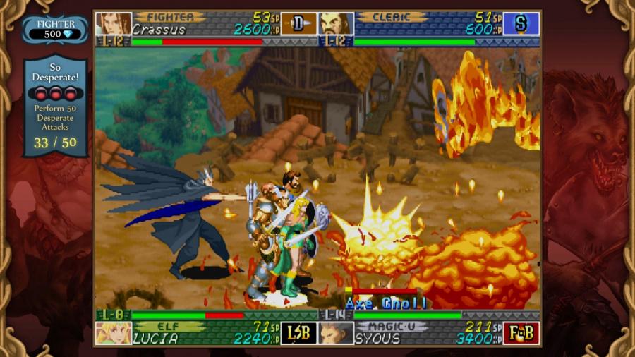 Dungeons & Dragons Chronicles of Mystara HD Review - Screenshot 5 of 7