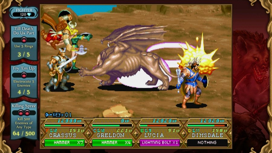 Dungeons & Dragons Chronicles of Mystara HD Review - Screenshot 4 of 7
