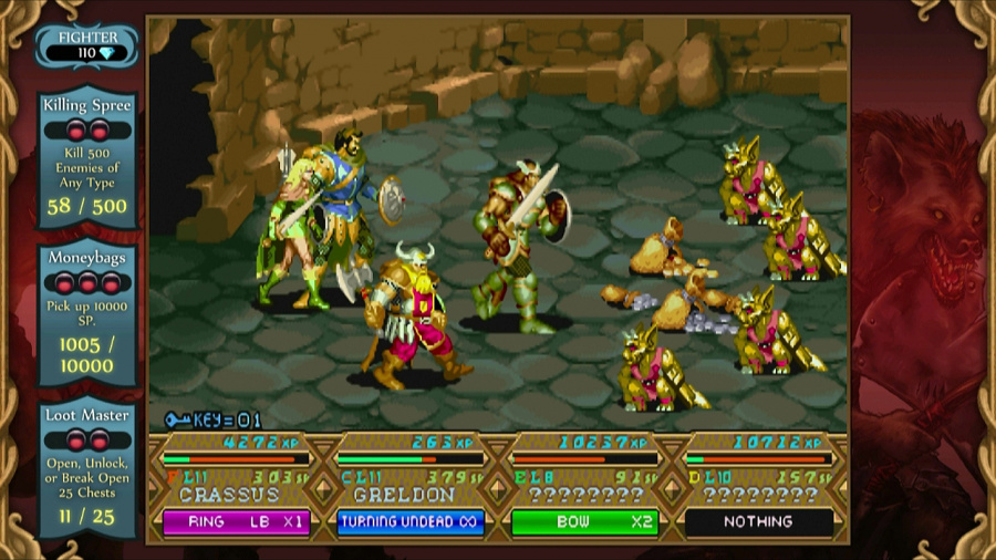Dungeons & Dragons Chronicles of Mystara HD Review - Screenshot 1 of 6
