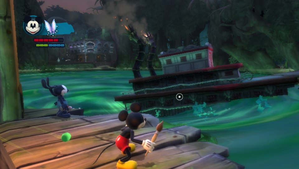 disney epic mickey 2  the power of two  ps vita