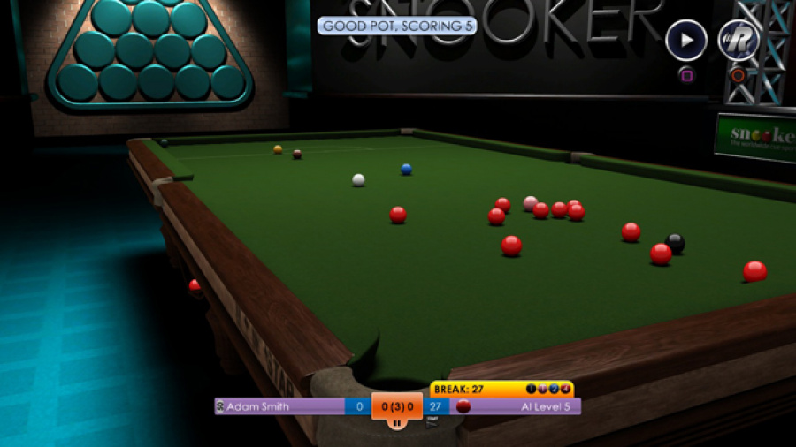 International Snooker Review - Screenshot 2 of 3