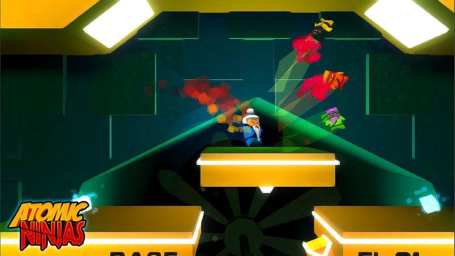 Atomic Ninjas Review - Screenshot 3 of 4