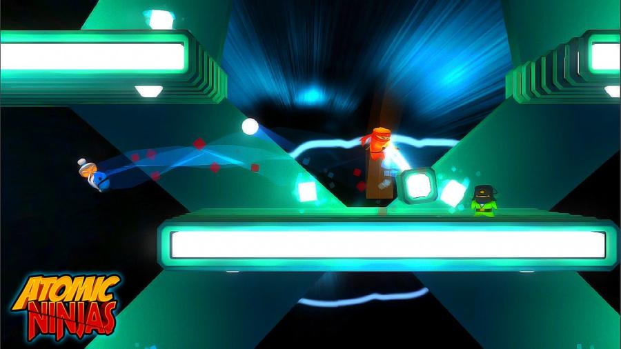 Atomic Ninjas Review - Screenshot 1 of 4