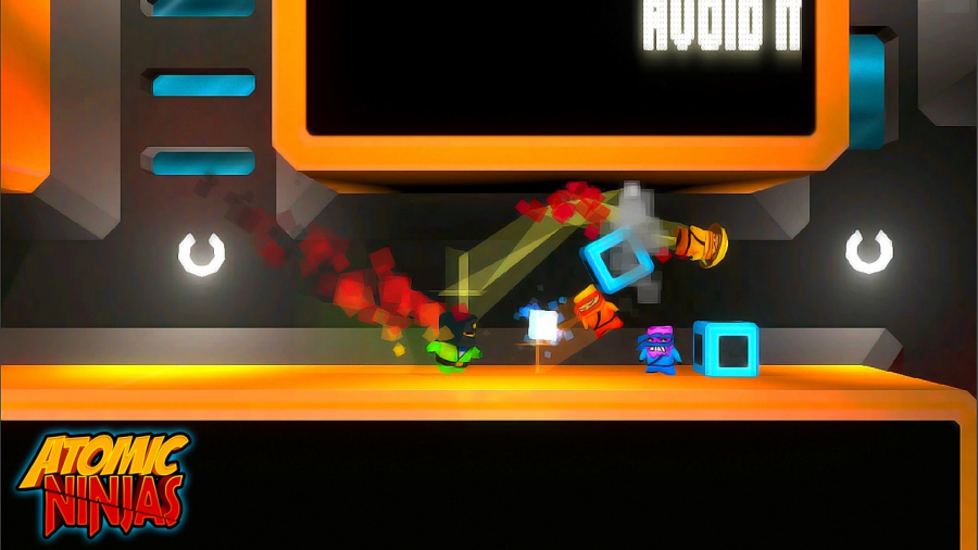 Atomic Ninjas Review - Screenshot 2 of 4