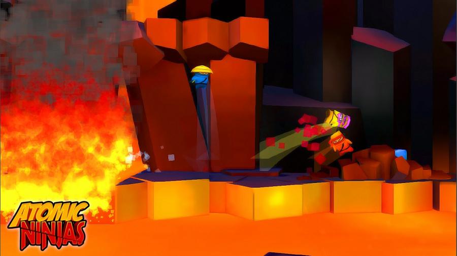 Atomic Ninjas Review - Screenshot 1 of 3