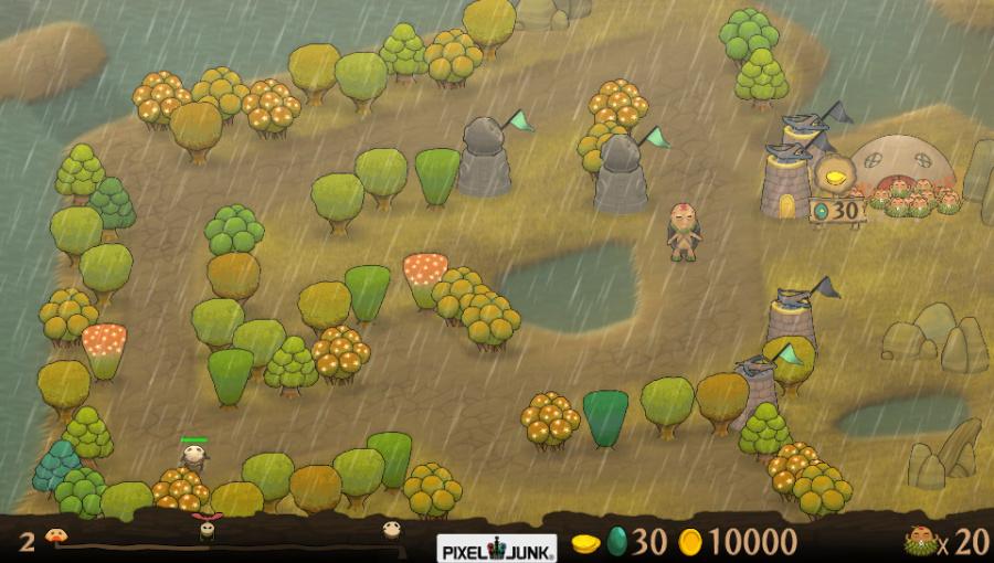 PixelJunk Monsters: Ultimate HD Review - Screenshot 2 of 4