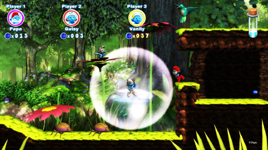 The Smurfs 2: The Video Game Review - Screenshot 2 of 5