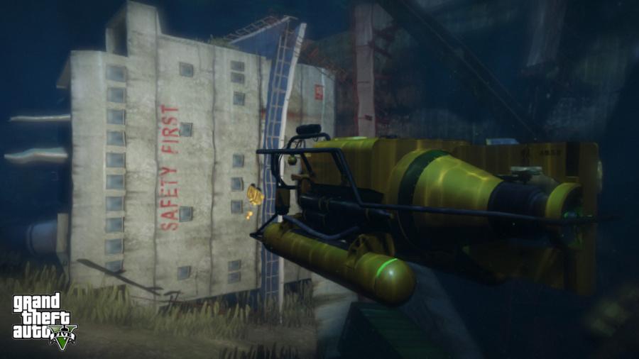 Grand Theft Auto V Review - Screenshot 1 of 8