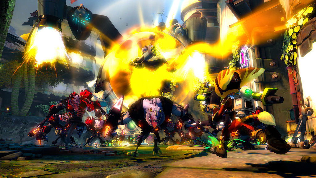 playstation 3 ratchet clank into the nexus screenshots ratchet clank