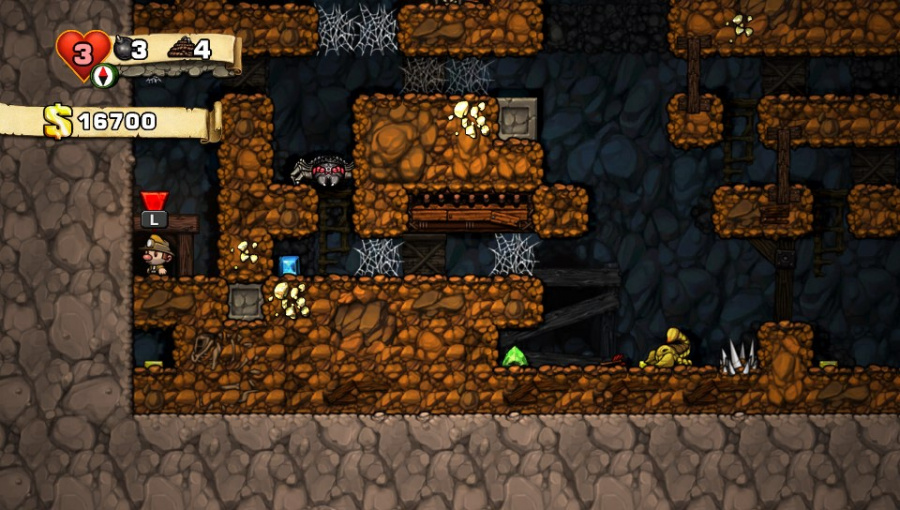 Spelunky Review - Screenshot 1 of 5