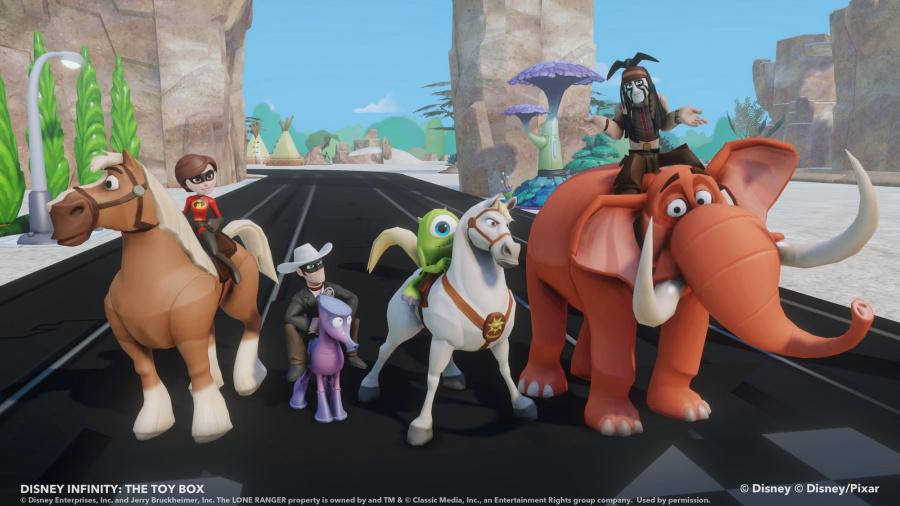 Disney Infinity Review - Screenshot 1 of 4