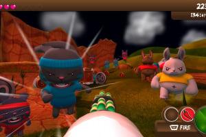 Blast 'Em Bunnies Screenshot