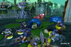 Orc Attack: Flatulent Rebellion Screenshot