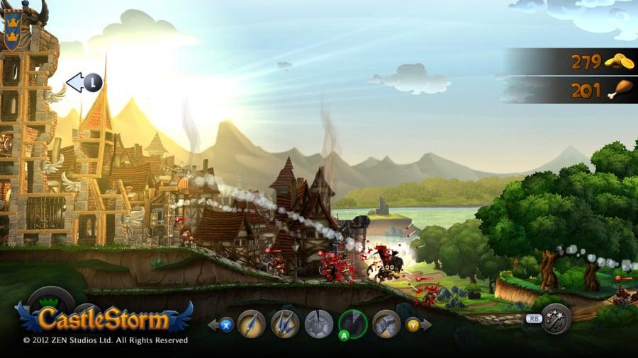CastleStorm Review - Screenshot 1 of 3