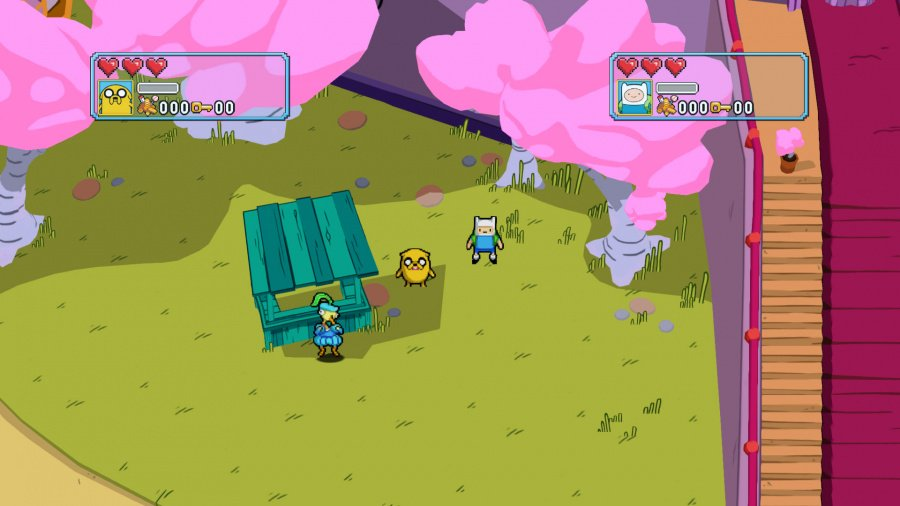 Adventure Time: Explore the Dungeon Because I DON'T KNOW! Review - Screenshot 1 of 4