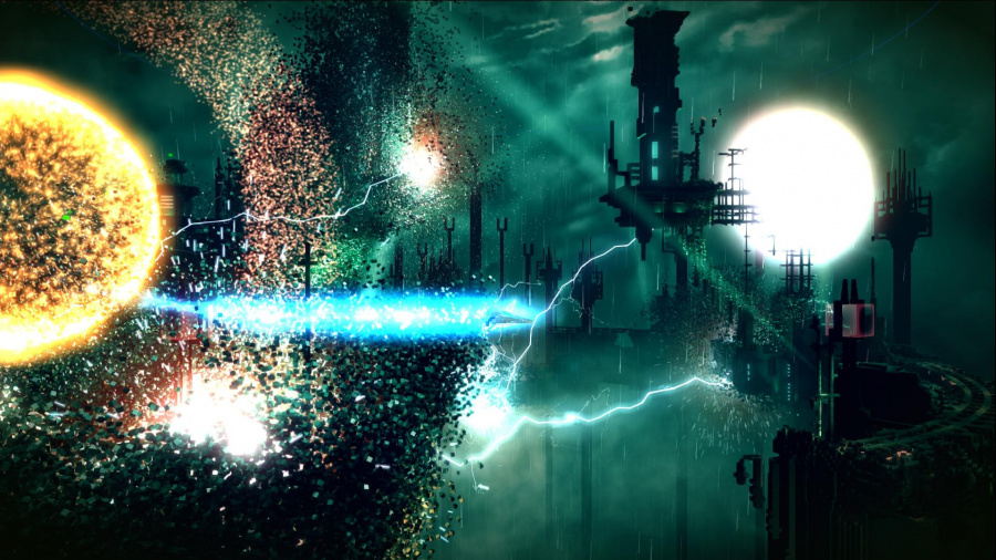 Resogun Review - Screenshot 1 of 4