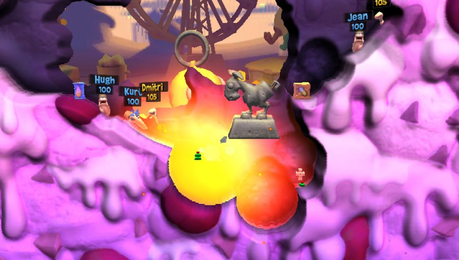 Worms: Revolution Extreme Review - Screenshot 1 of 3