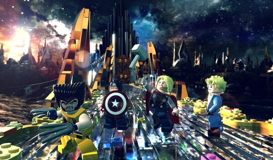 LEGO Marvel Super Heroes Review - Screenshot 1 of 5