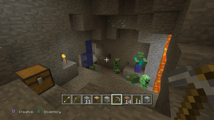 Minecraft: PlayStation 3 Edition Review - Screenshot 2 of 4