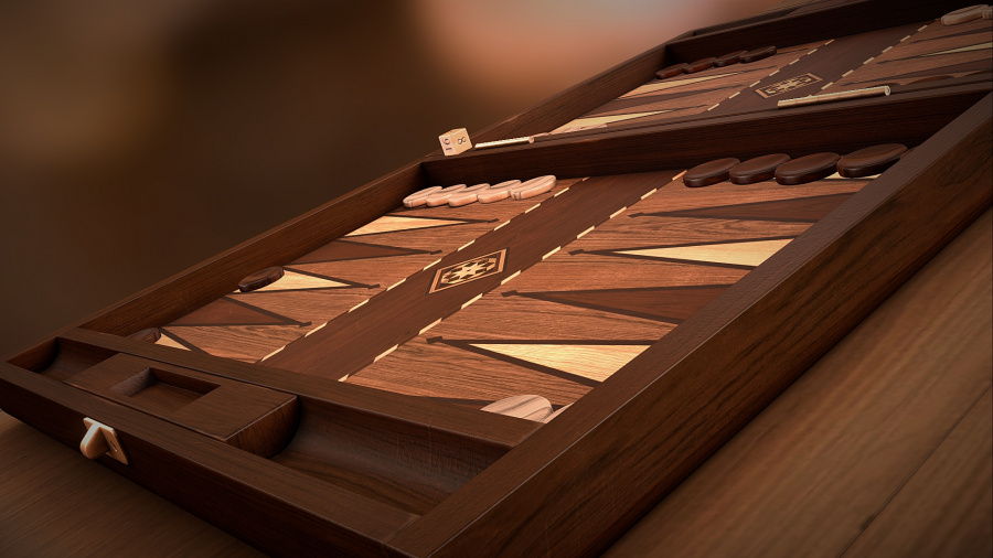Backgammon Blitz Review - Screenshot 1 of 3