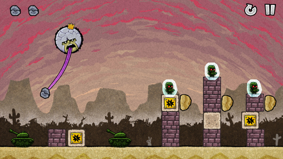 King Oddball Ends the World Review - Screenshot 3 of 3