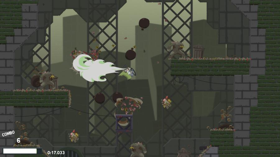 Dustforce Review - Screenshot 1 of 4