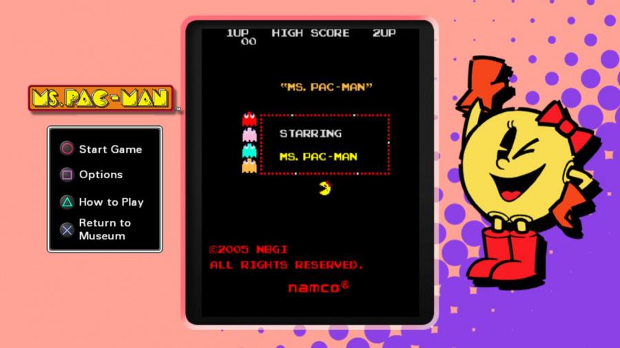 Pac-Man Museum Review - Screenshot 1 of 3