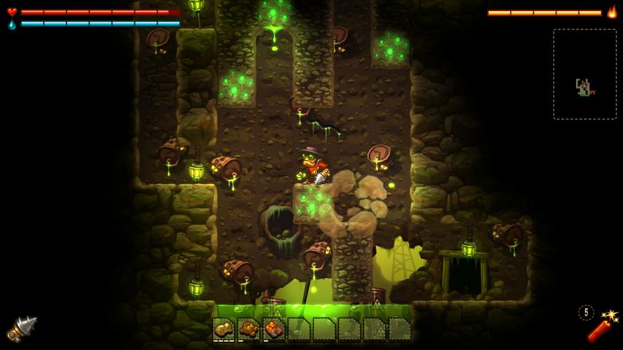 SteamWorld Dig Review - Screenshot 4 of 5