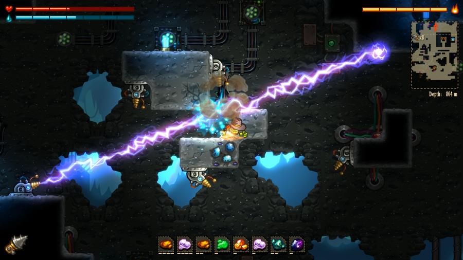SteamWorld Dig Review - Screenshot 3 of 5