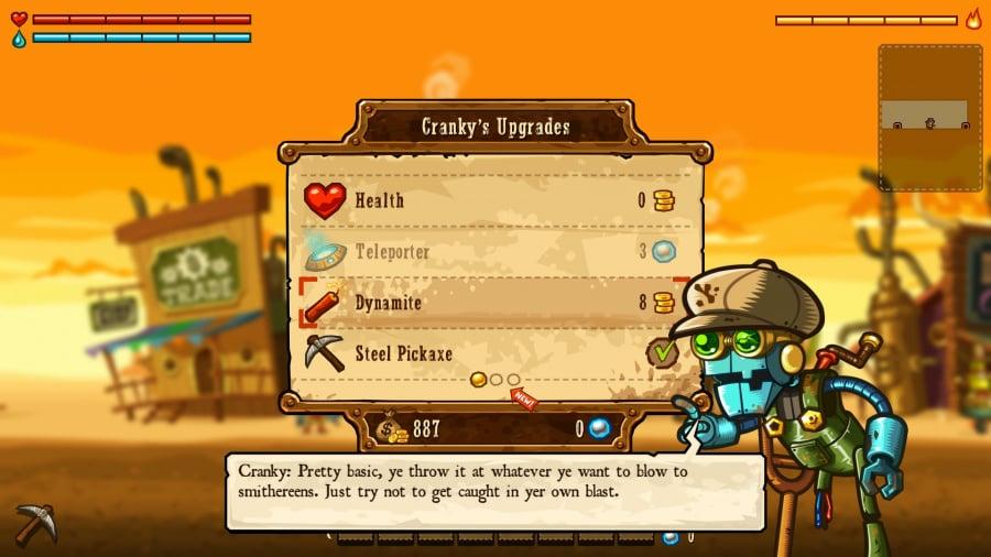 SteamWorld Dig Review - Screenshot 5 of 5
