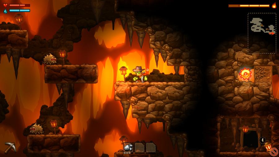 SteamWorld Dig Review - Screenshot 2 of 5