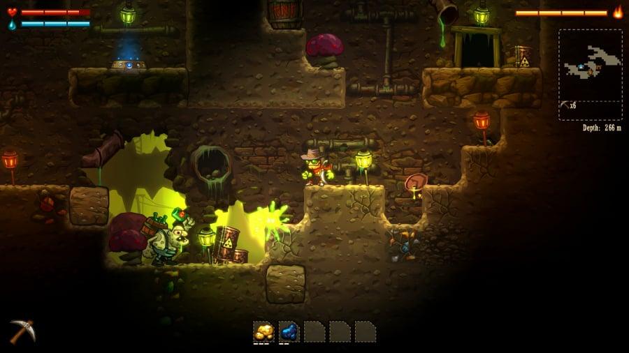 SteamWorld Dig Review - Screenshot 1 of 5