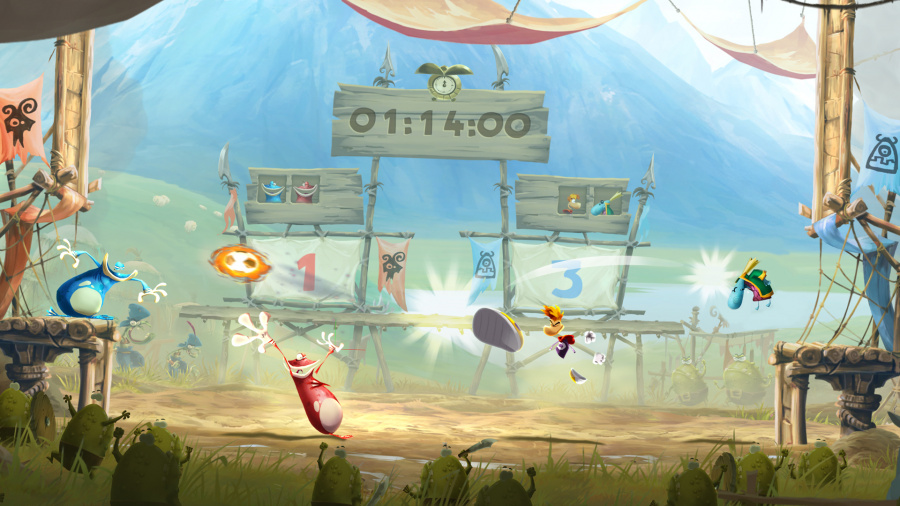 Rayman Legends Review - Screenshot 2 of 5