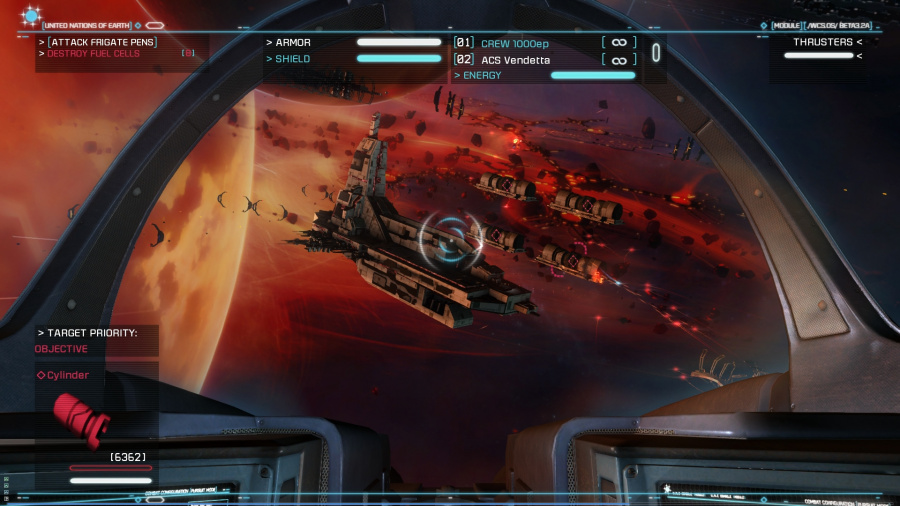 Strike Suit Zero: Director's Cut Review - Screenshot 4 of 7