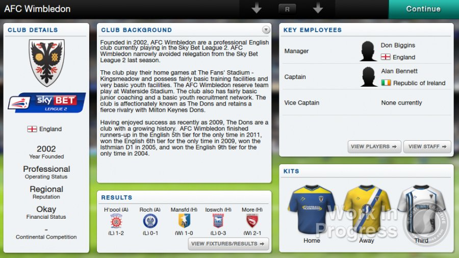 Football Manager Classic 2014 Review - Screenshot 1 of 6