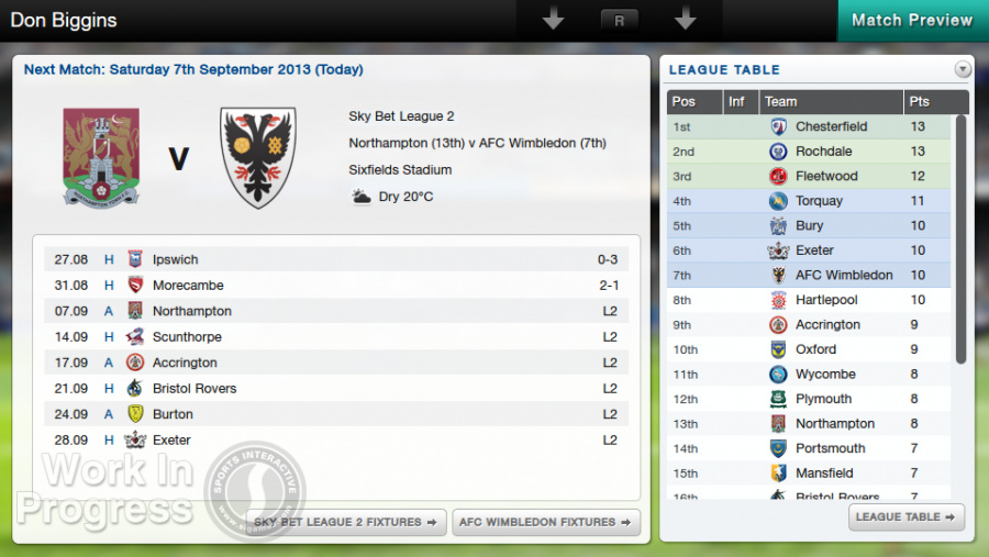 Football Manager Classic 2014 Review - Screenshot 1 of 5