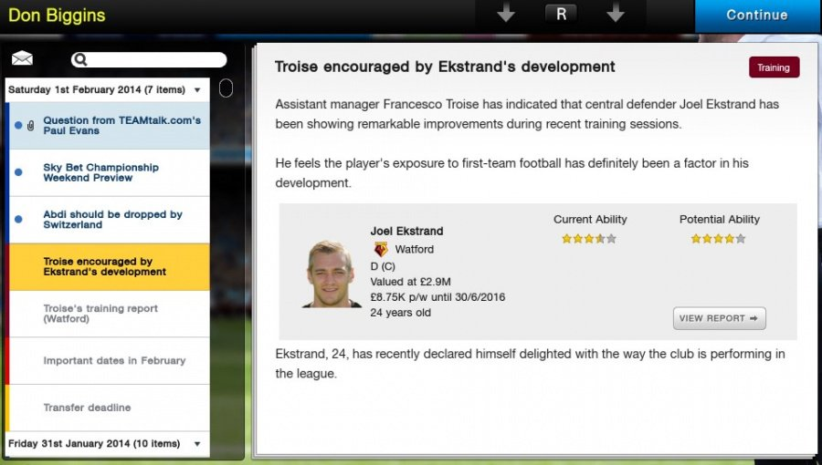 Football Manager Classic 2014 Review - Screenshot 5 of 6