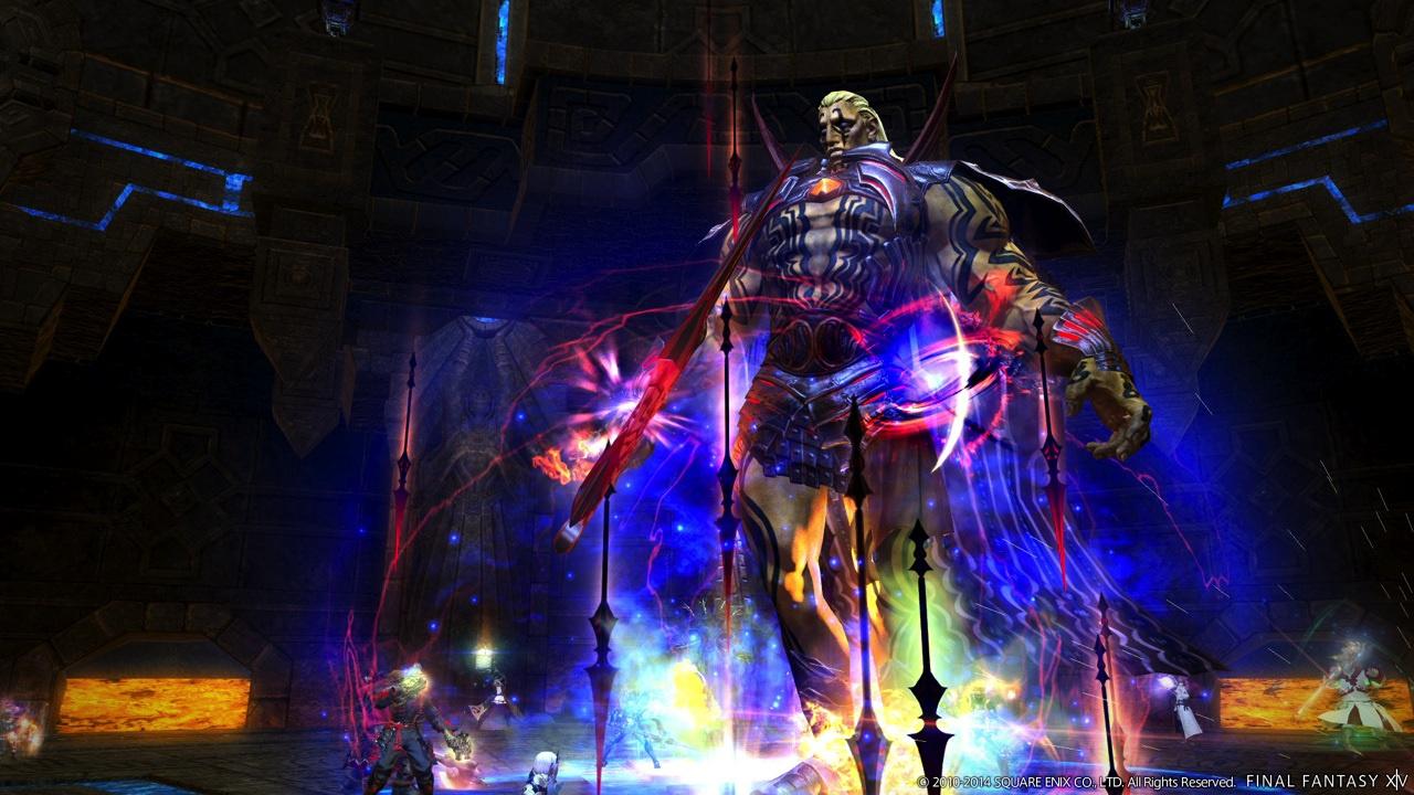 Final Fantasy XIV Online: A Realm Reborn Review (PS4)   Push